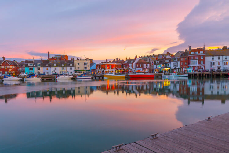 Romantic holiday ideas Weymouth Dorset