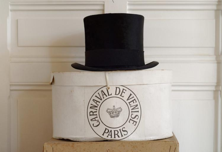 Hat and box