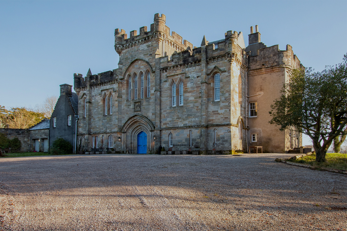 Live like royalty when you stay in a castle in Scotland