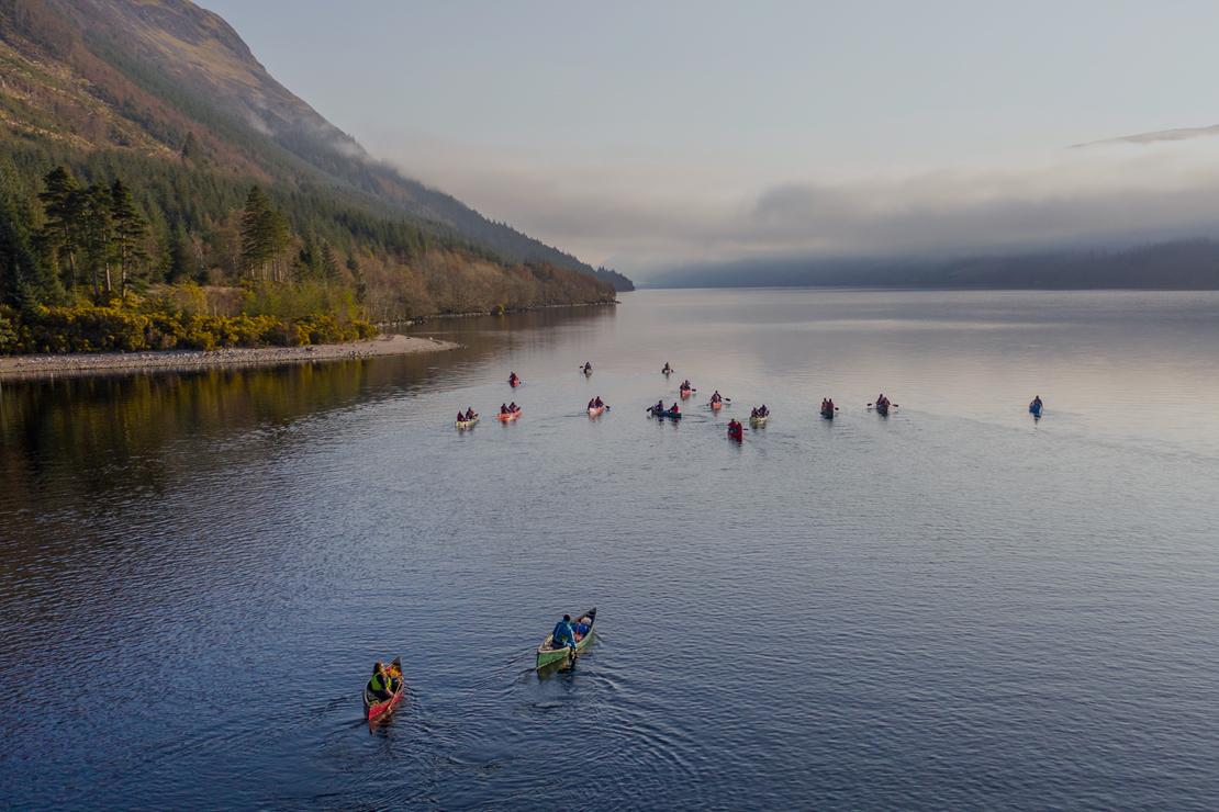 Top activities in Scotland for big groups