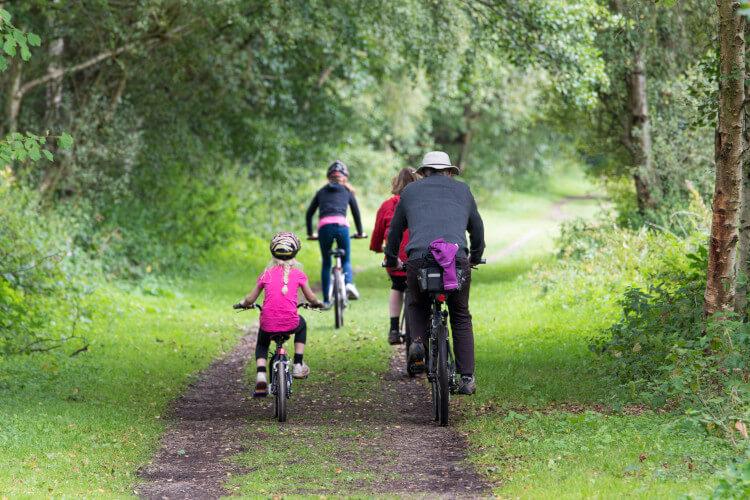 Cycling around Corfe Castle