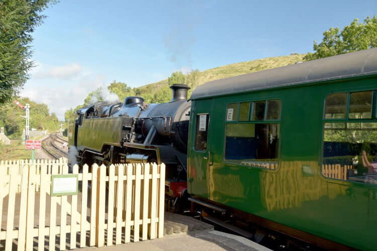 Corfe Castle Steam Train