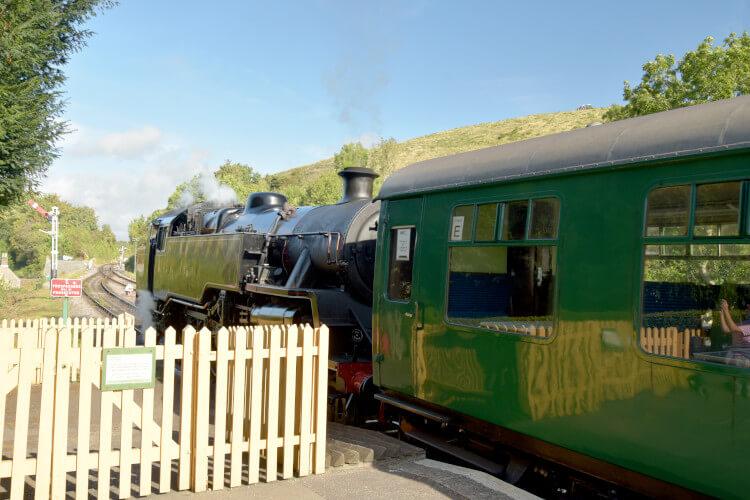 Corfe Castle Steam Train