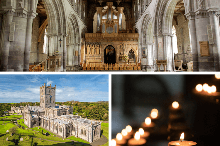 St Davids Cathedral montage