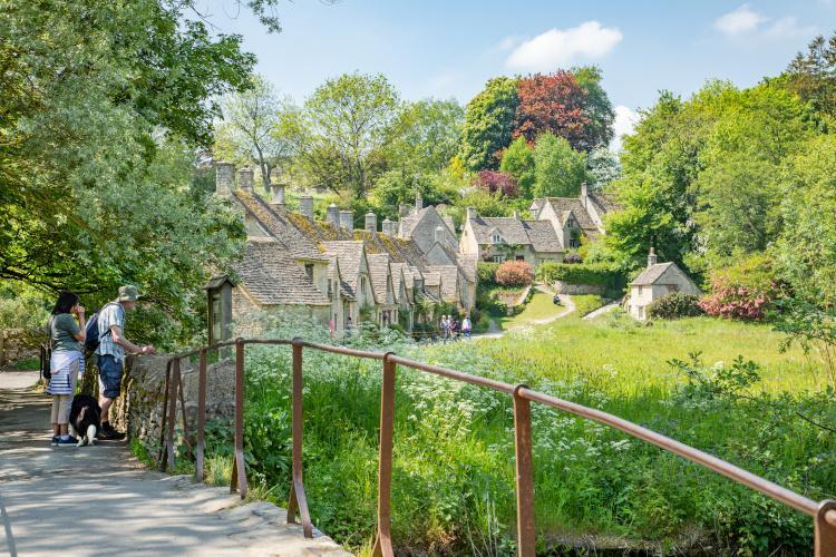 Bibury, Cotswolds, Gloucestershire