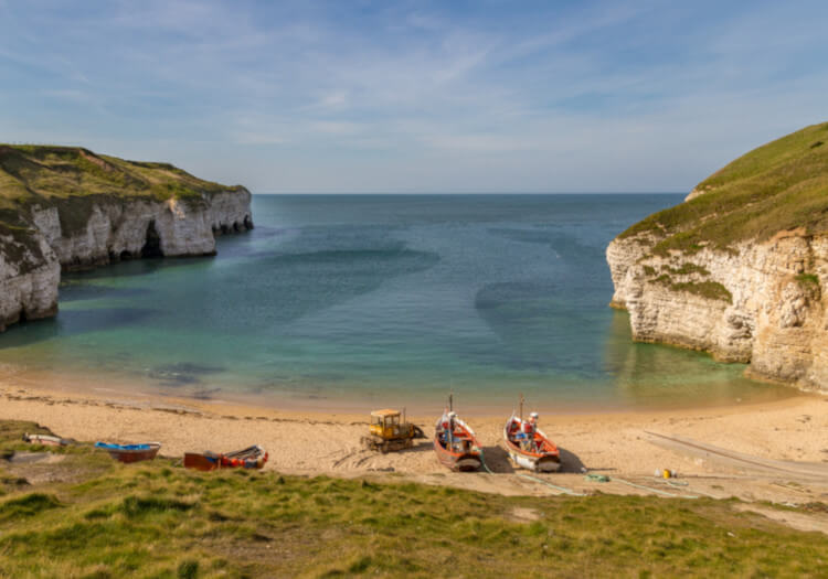 Dog-friendly Yorkshire beach - Flamborough