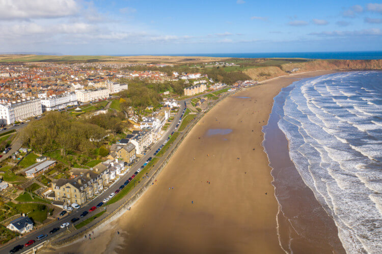Dog-friendly Yorkshire beach - Filey
