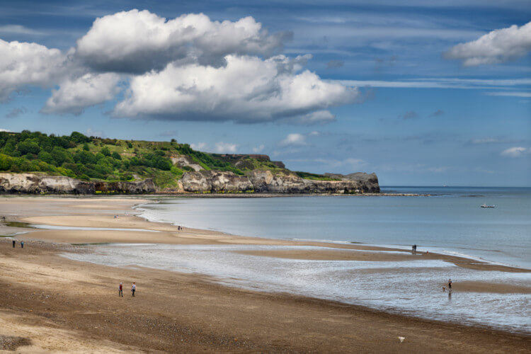 Dog-friendly Yorkshire beach - Sandsend
