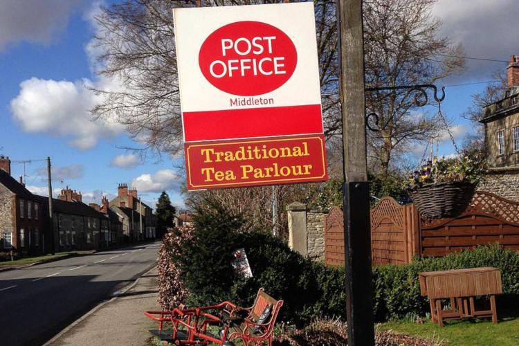 Middleton Post Office Tea Parlour