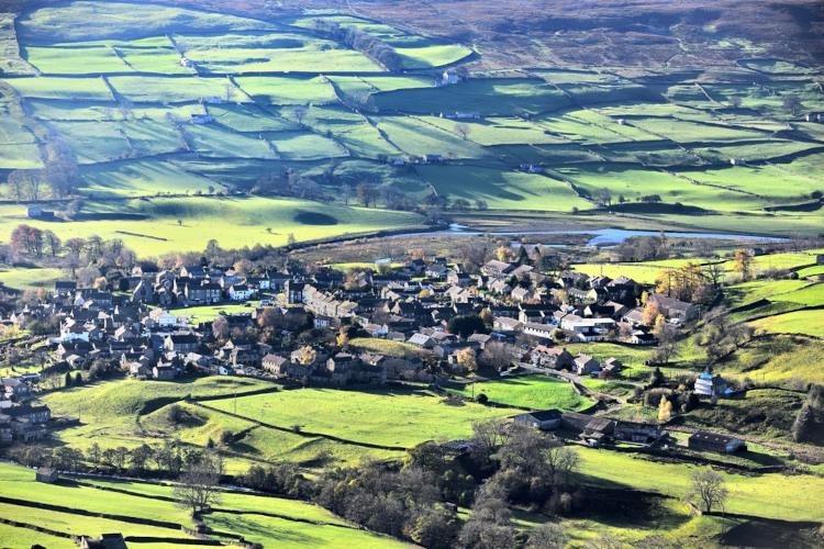 Yorkshire Dales towns and villages