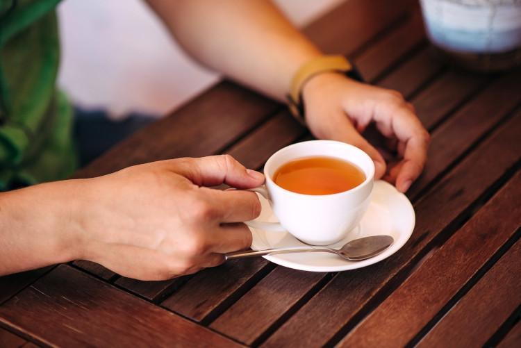 National Tea Day - drinking tea
