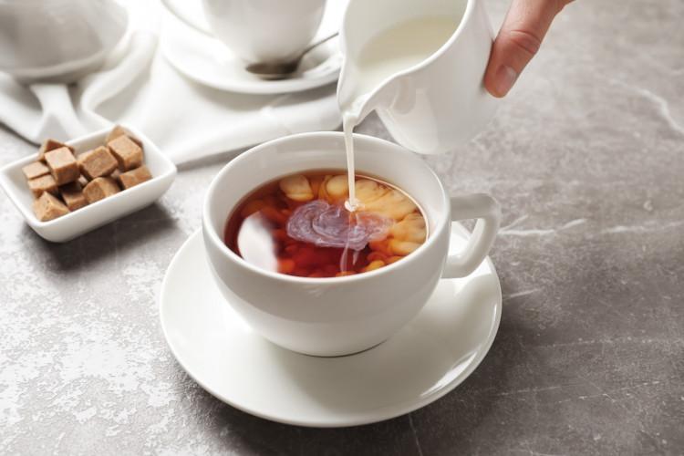 National Tea Day - milk last