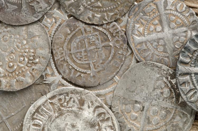 Hoard of coins - Hidden Treasures