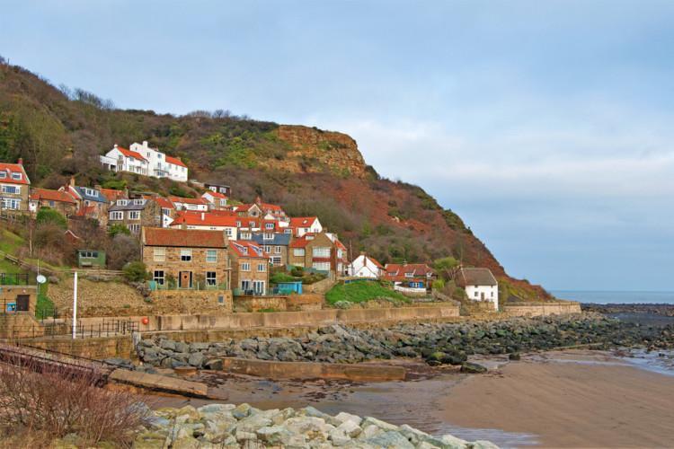 Best beaches in Yorkshire - Runswick Bay
