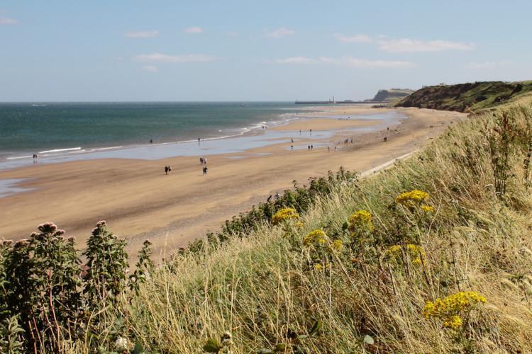 Best beaches in Yorkshire - Sandsend
