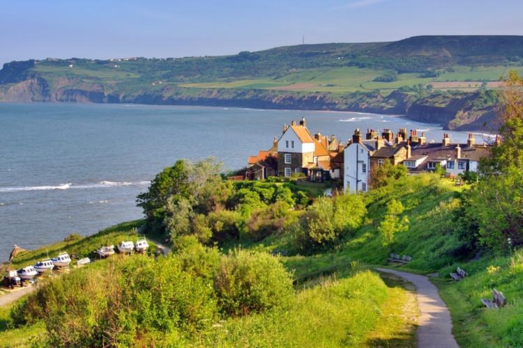 Best beaches in Yorkshire - Robin Hoods Bay
