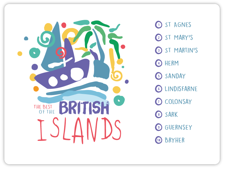 The top ten best islands in the British Isles