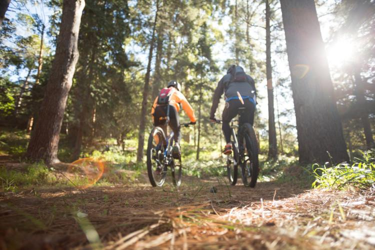 Scenic cycle trails