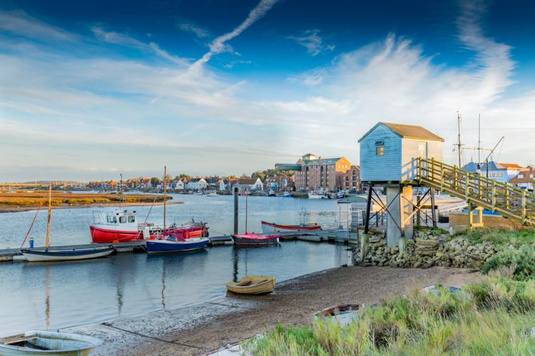 Norfolk seaside towns - Wells next the sea
