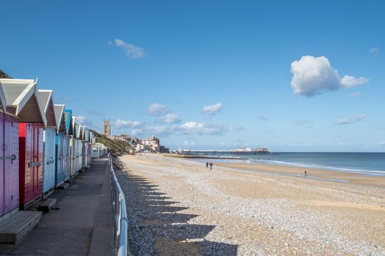Spend the day at Cromer beach