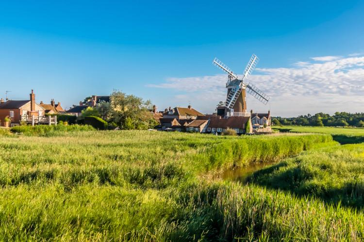 Pretty Norfolk villages - Cley