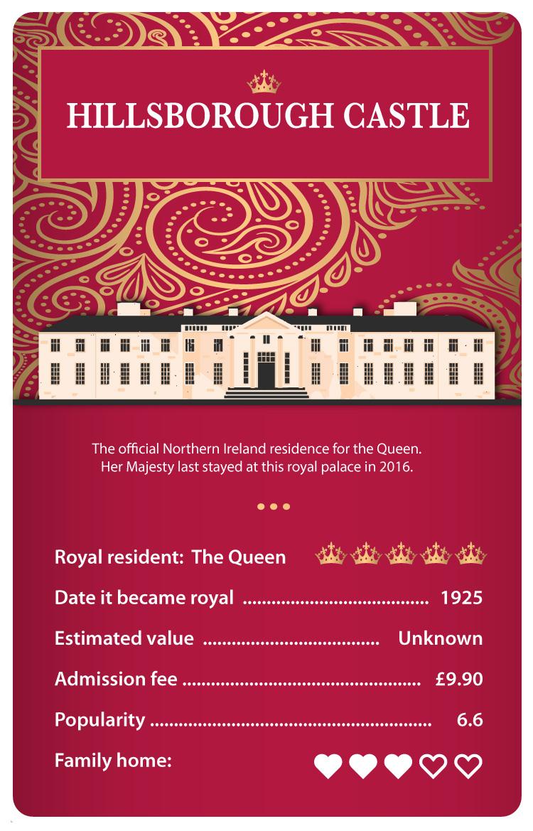 Royal residences - Hillsborough Castle