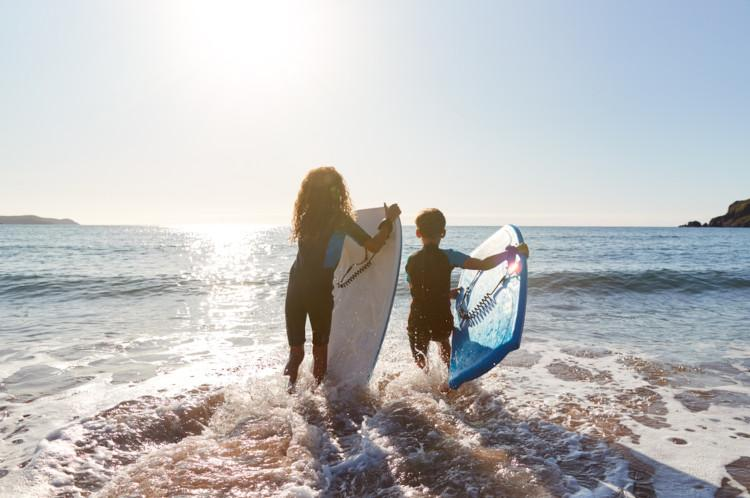 Things to do Norfolk - surfing
