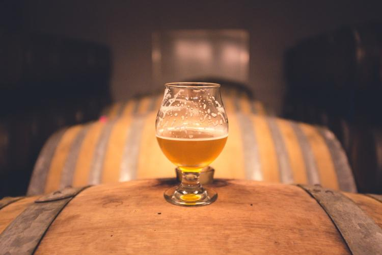 Beer from the barrel