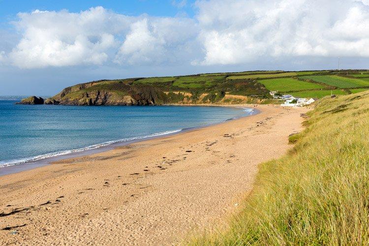 Praa Sands in Cornwall