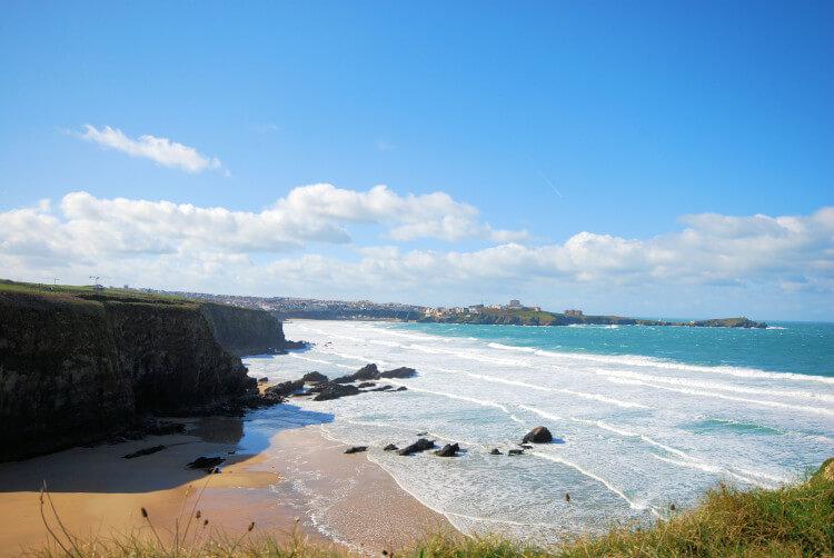 Newquay Beach, South Devon