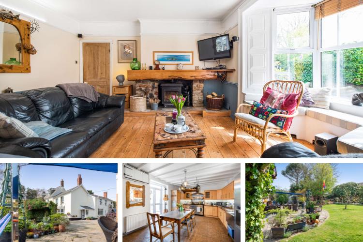 Enjoy stylish and comfortable accommodation in Magdala House, Devon