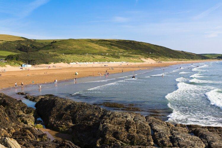 Woolacombe Beach in Devon