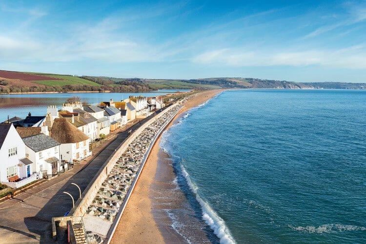 Torcross Beach in Devon