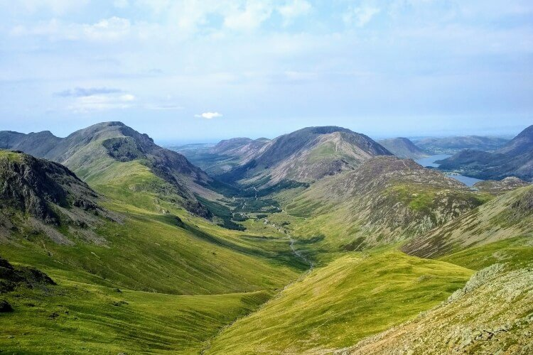 Great Gable, a mountain in the Lake District