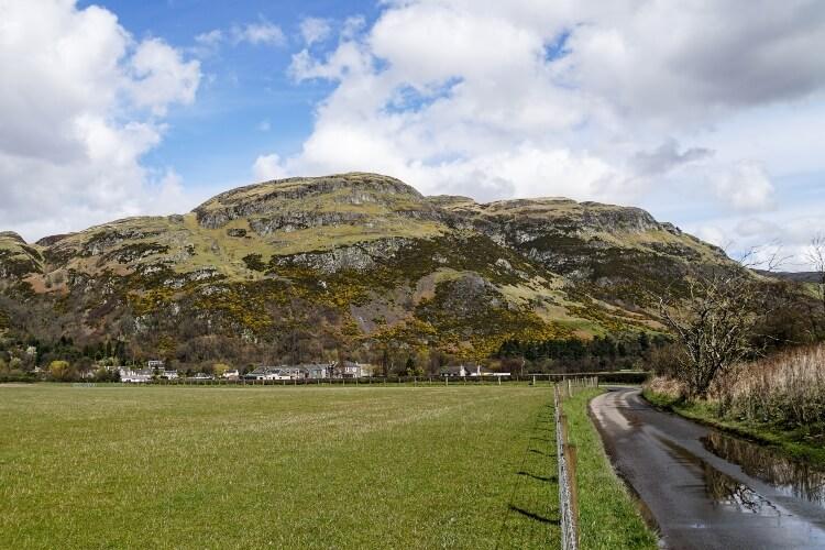 Dumyat, a mountain in Scotland