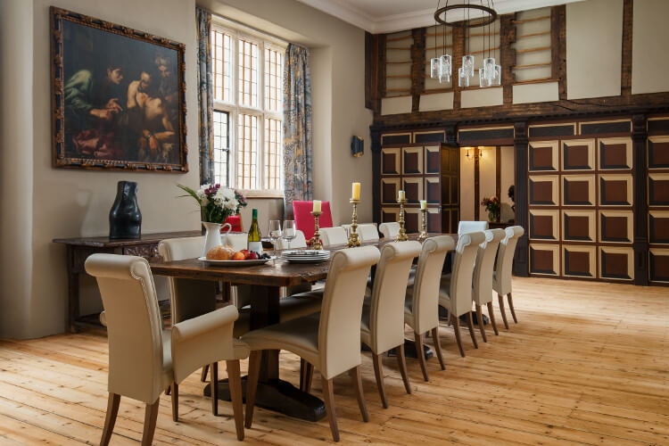 Marwood Manor dining room