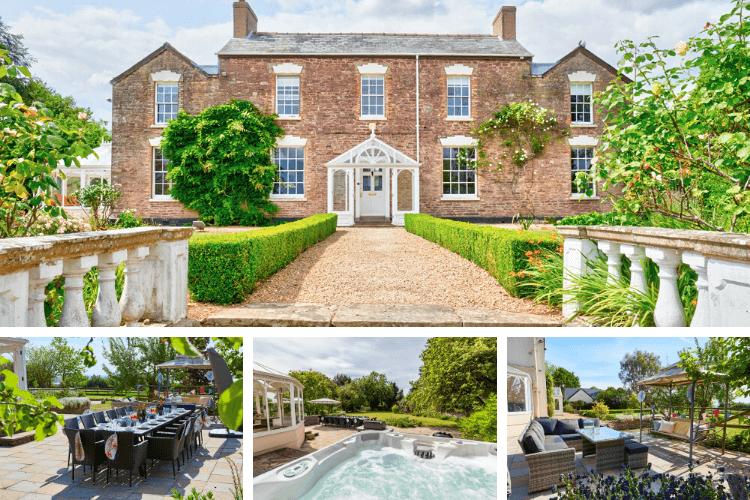 Garden party at Alvington Manor