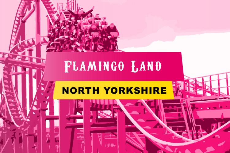Flamingo Land in North Yorkshire