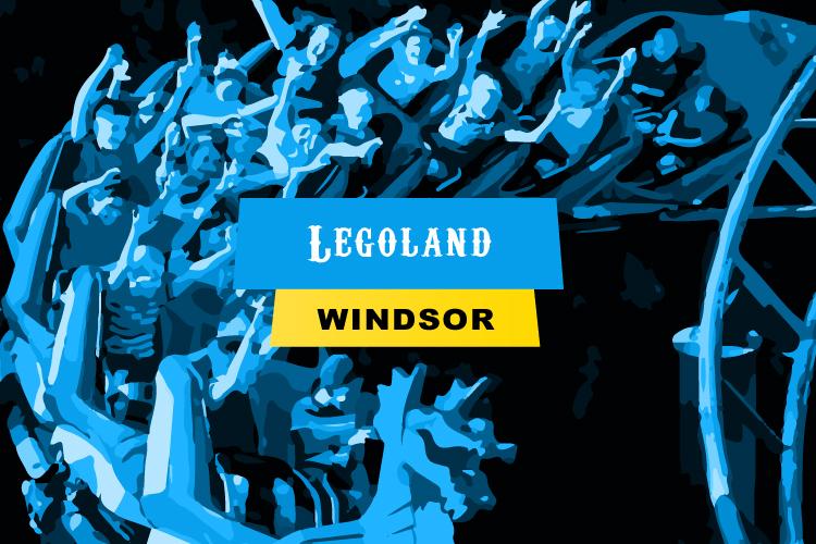 Legoland theme park in Windsor