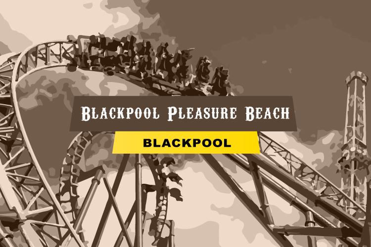 Blackpool Pleasure Beach in Lancashire