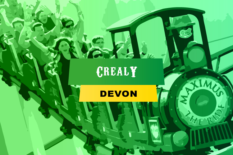 Crealy theme park in Devon