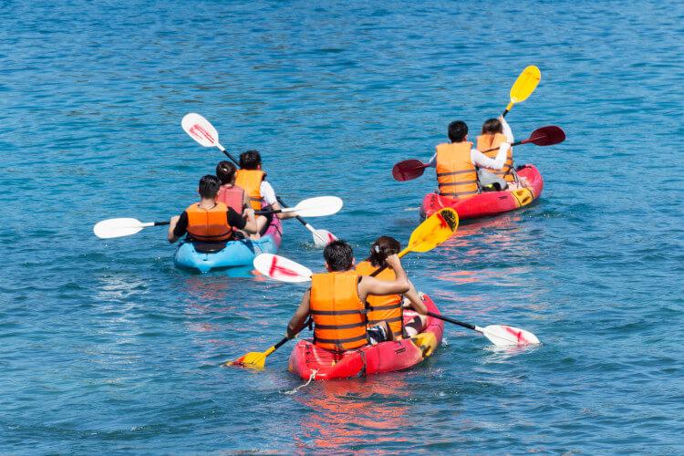 Sea kayaking in Yorkshire