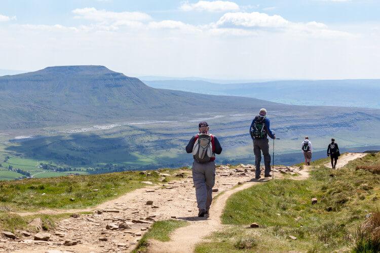 Hiking the Yorkshire Three Peaks