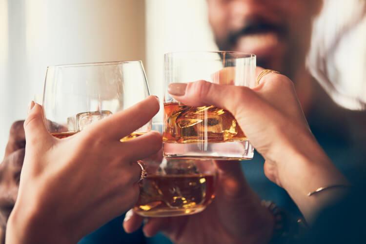 Whisky distillery in Scotland